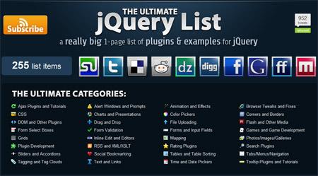 JQuery List