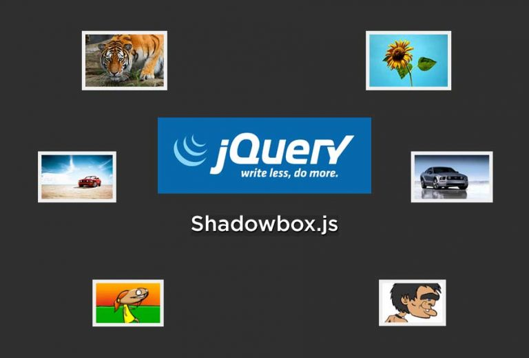 Jquery shadowbox