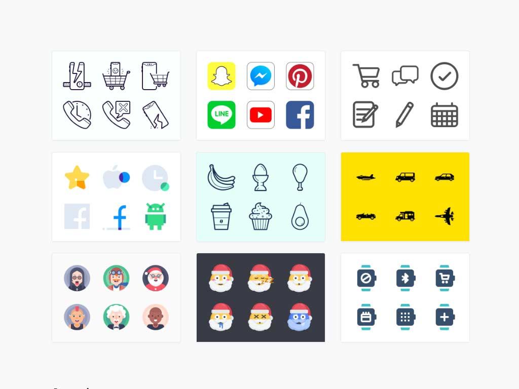 Iconos gratis para diseño – Iconfinder