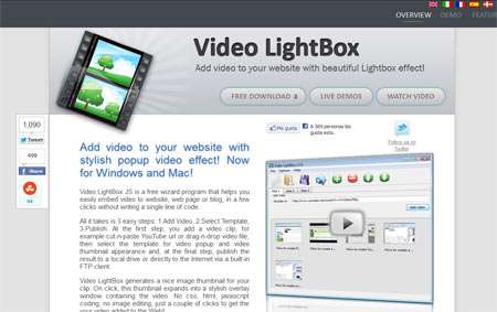 Video Lightbox JS