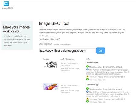 Optimización SEo de las imágenes