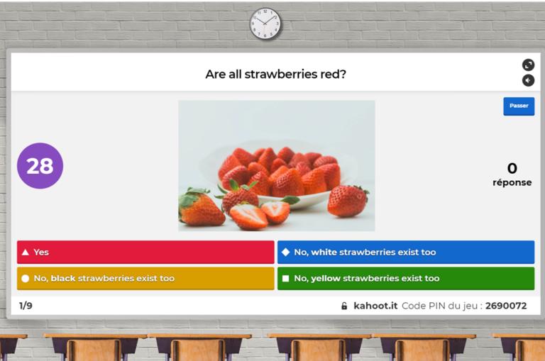 Juego online de preguntas y respuestas, Kahoot